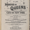 "Atlas of borough of Queens city of New York Volume Two. Long Island City. First Ward. Based upon official Plans and Maps on file in the various city offices, supplemented by careful field measurements and personal observations. By and under the supervision of Hugo Ullitz, C.E. Published by E. Belcher Hyde, 5 Beekman St., ""Temple Court"" Manhattan. 97 Liberty St., Brooklyn. 1913. Volume Two."