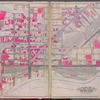 Queens, V. 2, Double Page Plate No. 1; Part of Long Island City, Ward 1; [Map bounded by 12th St., Ashburn St., Newtown Creek, East River]