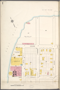 Queens V. 2, Plate No. 1 [Map bounded by East River, Halsey, Franklin]