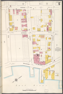 Queens V. 2, Plate No. 6 [Map bounded by Hopkins Ave., Camelia, East River, Elm]