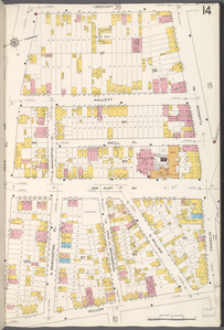 Queens V. 2, Plate No. 14 [Map bounded by Crescent, Flushing Ave., Franklin, Willow, Hoyt Ave.]