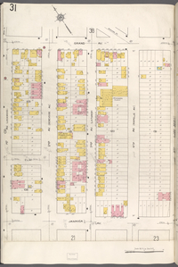 Queens V. 2, Plate No. 31 [Map bounded by Grand Ave., 5th Ave., Jamaica Ave., 1st Ave.]