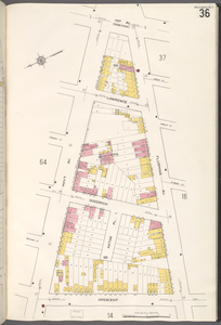 Queens V. 2, Plate No. 36 [Map bounded by 2nd Ave., Flushing Ave., Crescent, Hoyt Ave.]