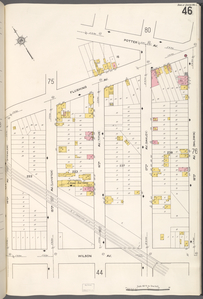 Queens V. 2, Plate No. 46 [Map bounded by Potter Ave., 18th Ave., Wilson Ave., 14th Ave.]