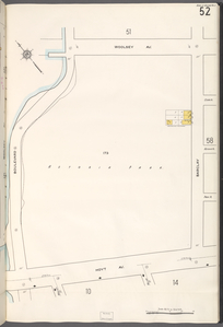 Queens V. 2, Plate No. 52 [Map bounded by Woolsey Ave., Barclay, Hoyt Ave., Boulevard]