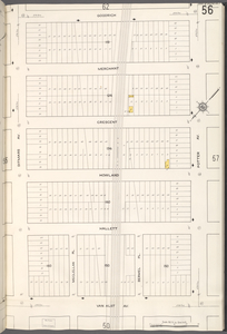 Queens V. 2, Plate No. 56 [Map bounded by Goodrich, Potter Ave., Van Alst Ave., Ditmars Ave.]