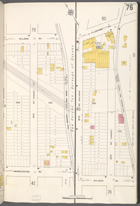 Queens V. 2, Plate No. 76 [Map bounded by Wilson Ave., Old Bowery Bay Rd., Vandeventer Ave., 18th Ave.; Flushing Ave., Old Bowery Bay Rd., Wilson Ave., 18th Ave.]