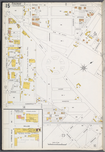 Queens V. 3, Plate No. 15 [Map bounded by Putnam Ave., Cornelia, Forest Ave., Myrtle Ave., Debevoise Ave., Millwood Ave., Summerfield, Cypress Hills Ave.]
