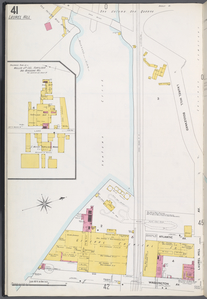 Queens V. 3, Plate No. 41 [Map bounded by Laurel Hill Blvd., Washington Ave., Newton Creek]