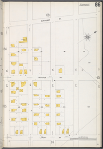 Queens V. 3, Plate No. 86 [Map bounded by Elmhurst Ave., 12th St., Lamont Ave., 8th St.]