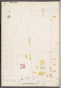 Queens V. 4, Plate No. 1 [Map bounded by Forest Park, Lott, Jamaica Ave., Cypress Hills Cemetery]