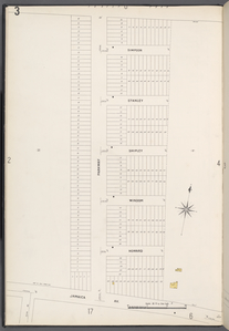 Queens V. 4, Plate No. 3 [Map bounded by Forest Park, Jamaica Ave., Parkway]