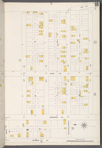Queens V. 4, Plate No. 18 [Map bounded by 3rd St., 7th St., Johnson Ave., 4th St.]