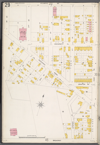 Queens V. 4, Plate No. 29 [Map bounded by Atlantic Ave., Ferry St., Broadway, 1st St.]