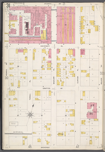 Queens V. 4, Plate No. 31 [Map bounded by Atlantic Ave., Walker Ave., Broadway, Morris Ave.]