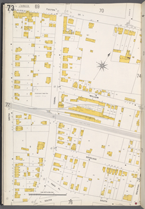 Queens V. 4, Plate No. 73 [Map bounded by Fulton St., Brenton Ave., South, Smith]