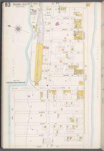 Queens V. 4, Plate No. 83 [Map bounded by Eastern Ave., Triton Ave., 10th Ave., Bay Ave., Jamaica Bay]