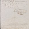 Moses Taylor letter