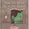 How the Irish beat the band