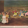 """""""Out of my dreams"""" [reproduction of Doris Lee painting of Oklahoma!]"""