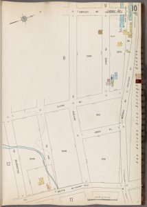 Queens V. 3, Plate No. 10 [Map bounded by Berlin Ave., Borden Ave., Betts Ave., Columbine Ave.]