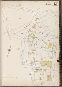 Queens V. 3, Plate No. 32 [Map bounded by James St., Collins Ave., Baltic, Rust]