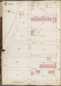 Queens V. 3, Plate No. 81 [Map bounded by Tompkins Pl., Central Ave., Mc. Kinley Ave., Otto]