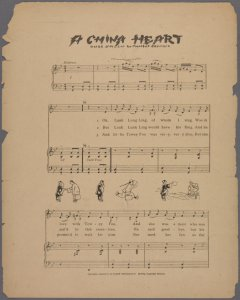 A China heart / words and music by Maribel Seymore.