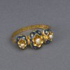 Heirloom scarf ring descended through family of Percy Bysshe Shelley [view 1].