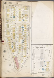 Queens V. 6, Plate No. 21 [Map bounded by 84th Dr., 160th St., Normal Rd., Parsons Ave., 84th Ave., Parsons Blvd., 152nd St.]