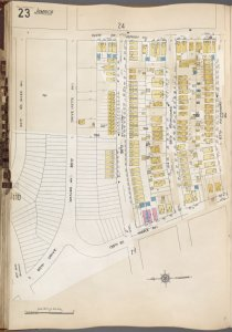 Queens V. 6, Plate No. 23 [Map bounded by 143rd St., 87th Ave., 139th St., 85th Rd.]