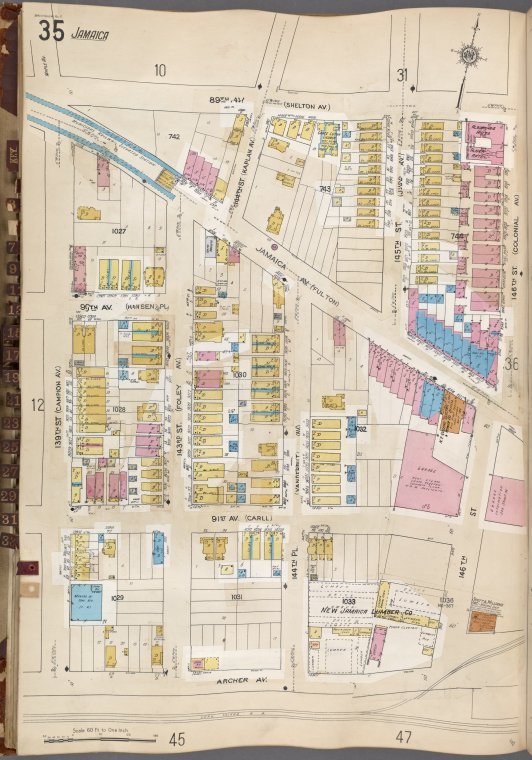 Queens V. 6, Plate No. 35 [Map bounded by 89th Ave., 146th St., Archer Ave., 139th St.]