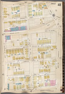 Queens V. 6, Plate No. 48 [Map bounded by 148th St., 101st Ave., Brisbin, 95th Ave.]