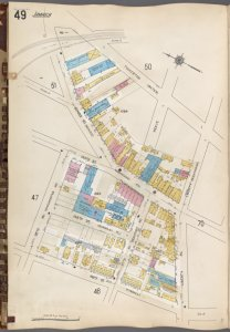 Queens V. 6, Plate No. 49 [Map bounded by Tuckerton, Liberty Ave., 148th St., 95th Ave.]