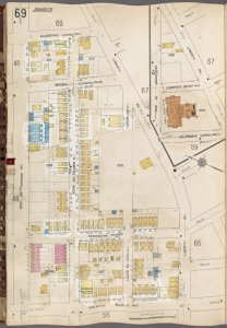 Queens V. 6, Plate No. 69 [Map bounded by Allendale, Liberty Ave., Van Wyck Blvd., 101st Ave.]