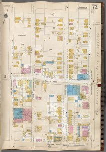 Queens V. 6, Plate No. 72 [Map bounded by New York Blvd., 107th Ave., 158th St.]