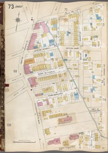 Queens V. 6, Plate No. 73 [Map bounded by South Rd., 155th St., 150th St.]