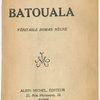 Batouala, [Title page]