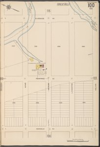 Queens V. 10, Plate No. 100 [Map bounded by Riverside Ave., Kelvin, Seminole Ave., Occident]