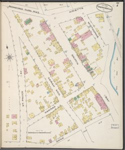 Staten Island, Plate No. 7 [Map bounded by Richmond Turn Pike, Arietta, New York bay, Swan, St. Paul's Ave.]