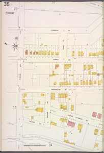 Queens V. 5, Plate No. 35 [Map bounded by Congress Ave., Myrtle Ave.]