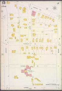 Queens V. 5, Plate No. 59 [Map bounded by Sanford Ave., Bowne Ave., Cypress Ave., Jamaica Ave.]