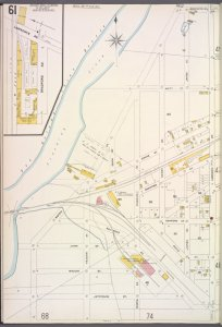 Queens V. 5, Plate No. 61 [Map bounded by Flushing Creek, Laerence Ave., Jefferson St.]