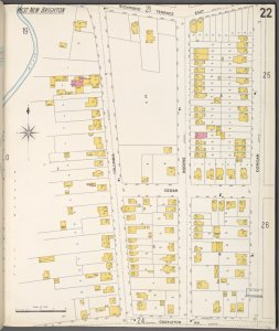 Richmond, Plate No. 22 [Map bounded by Richmond Terrace East, Dongan, Castleton Ave., Columbia]