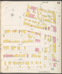 Richmond, Plate No. 68 [Map bounded by Canal, Bay, Harrison, Quinn]