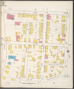 Staten Island, V. 1, Plate No. 13 [Map bounded by Grant, Bay, William, St. Paul's Ave.]