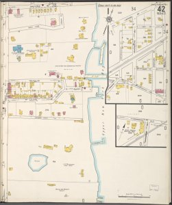 Staten Island, V. 1, Plate No. 42 [Map bounded by Bayview Ave., Upper New York Bay, Bay, Mosel Ave., Clove Ave., Fingerboard Rd., Lane]
