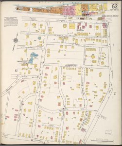 Staten Island, V. 1, Plate No. 62 [Map bounded by Kill Van Kull, York Ave., Prospect Ave., Henderson Ave.]