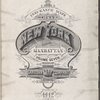Insurance maps of the City of New York (Borough of Manhattan). Volume Seven. Published by the Sanborn Map Company, 11 Broadway, New York, 1912.