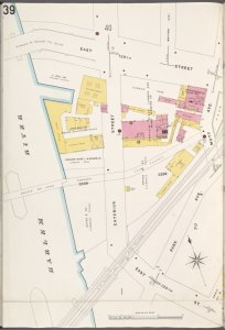 Bronx, V. 9, Plate No. 39 [Map bounded by Harlem River, E. 138th St., Mott Ave., Park Ave.]